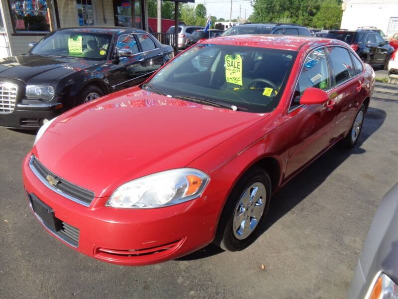 2008 Chevrolet Impala for sale at Aspen Auto Sales in Wayne MI