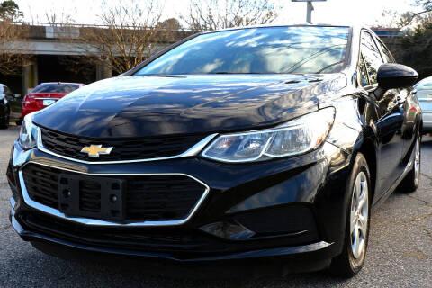 2017 Chevrolet Cruze for sale at Prime Auto Sales LLC in Virginia Beach VA