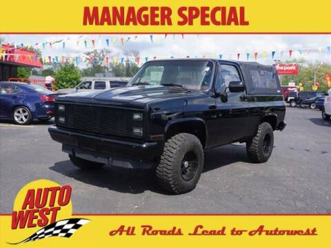 1984 GMC Jimmy for sale at Autowest of GR in Grand Rapids MI