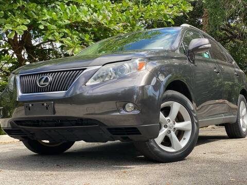 2010 Lexus RX 350 for sale at HIGH PERFORMANCE MOTORS in Hollywood FL