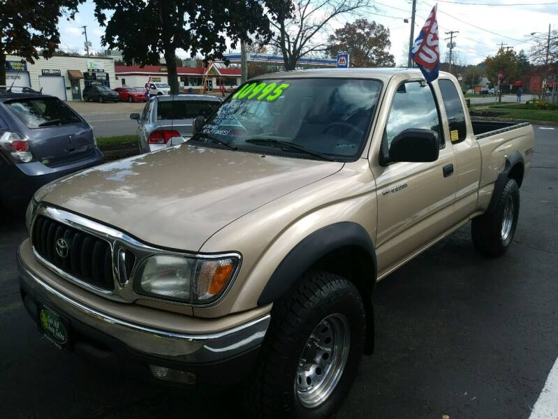 2003 Toyota Tacoma for sale at Oak Hill Auto Sales of Wooster, LLC in Wooster OH