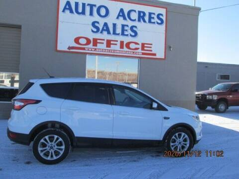 2017 Ford Escape for sale at Auto Acres in Billings MT