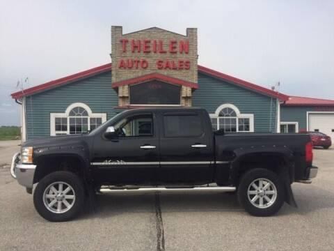 2013 Chevrolet Silverado 1500 for sale at THEILEN AUTO SALES in Clear Lake IA