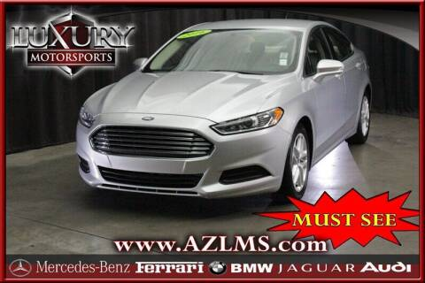 2016 Ford Fusion for sale at Luxury Motorsports in Phoenix AZ