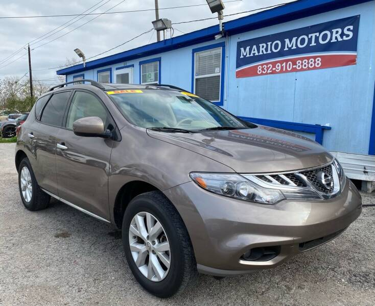 2014 Nissan Murano for sale at Mario Motors in South Houston TX