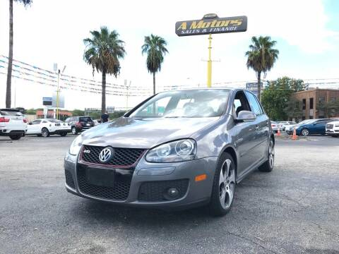 2007 Volkswagen GTI for sale at A MOTORS SALES AND FINANCE - 5630 San Pedro Ave in San Antonio TX