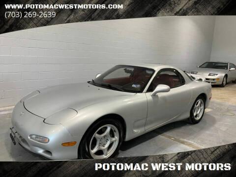 1993 Mazda RX-7 for sale at POTOMAC WEST MOTORS in Springfield VA