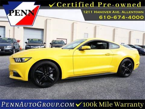 2016 Ford Mustang for sale at STAR AUTO MALL 512 in Bethlehem PA