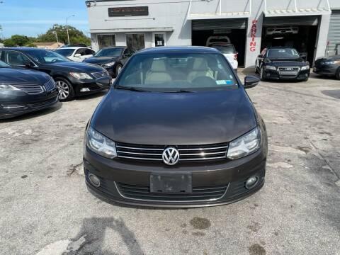 2014 Volkswagen Eos for sale at America Auto Wholesale Inc in Miami FL