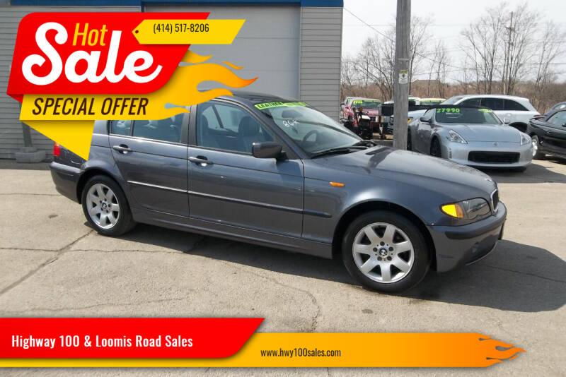 2003 BMW 3 Series for sale at Highway 100 & Loomis Road Sales in Franklin WI