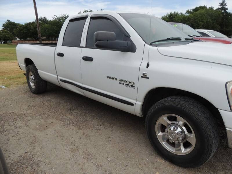 2006 Dodge Ram Pickup 2500 for sale at Brannan Auto Sales in Gainesville TX