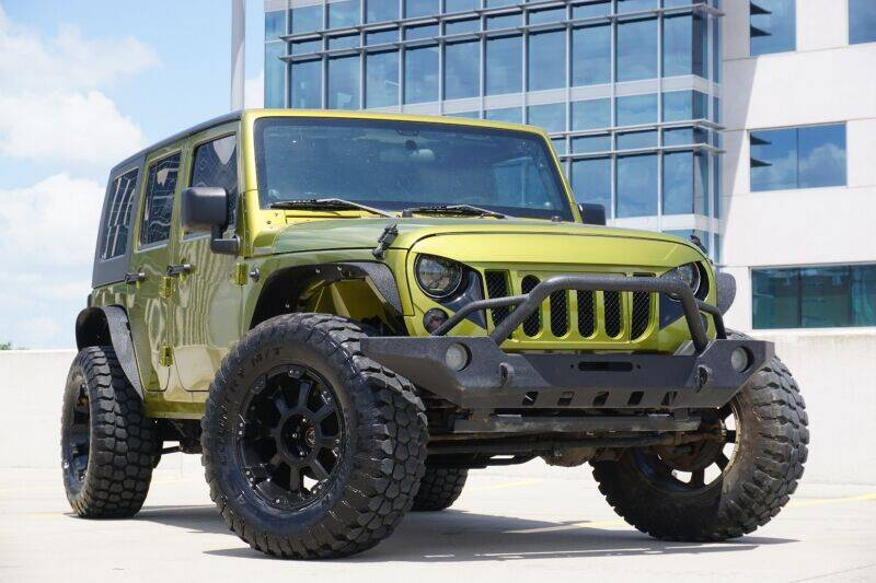 2007 Jeep Wrangler Unlimited for sale at JD MOTORS in Austin TX
