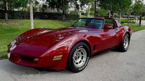 1981 Chevrolet Corvette for sale at Premier Luxury Cars in Oakland Park FL