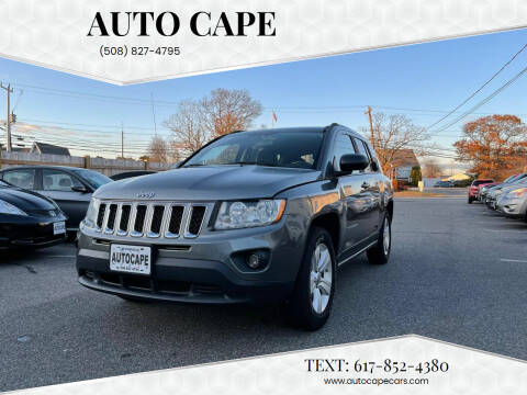 2011 Jeep Compass for sale at Auto Cape in Hyannis MA