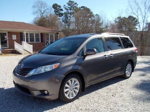 2013 Toyota Sienna for sale at Carolina Auto Connection & Motorsports in Spartanburg SC