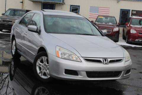2006 Honda Accord for sale at Dynamics Auto Sale in Highland IN