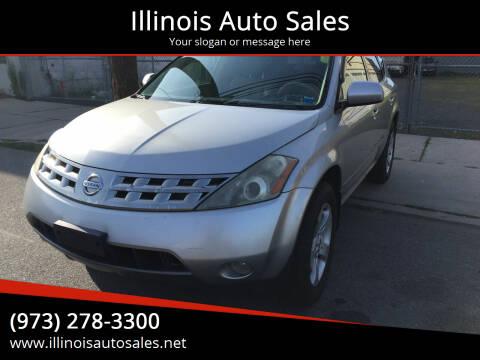 2005 Nissan Murano for sale at Illinois Auto Sales in Paterson NJ