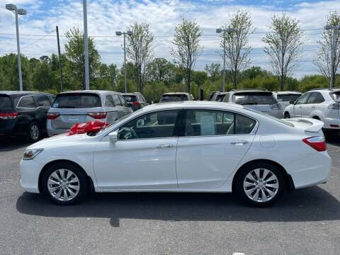 2013 Honda Accord for sale at Charlotte Auto Group, Inc in Monroe NC
