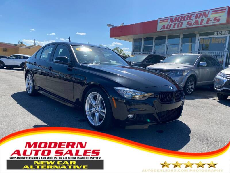 2016 BMW 3 Series for sale at Modern Auto Sales in Hollywood FL