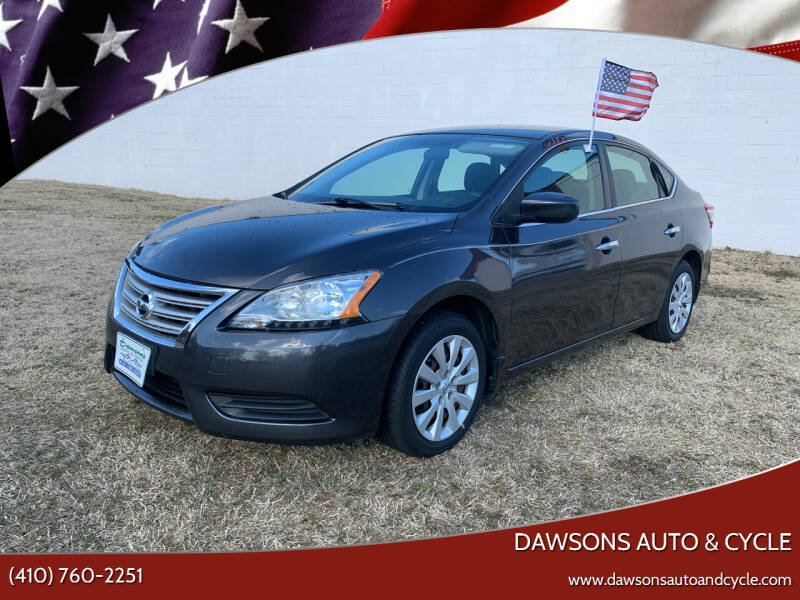 2013 Nissan Sentra for sale at Dawsons Auto & Cycle in Glen Burnie MD