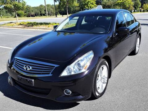 2013 Infiniti G37 Sedan for sale at memar auto sales, inc. in Marietta GA