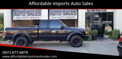 2002 Ford Ranger for sale at Affordable Imports Auto Sales in Murrieta CA