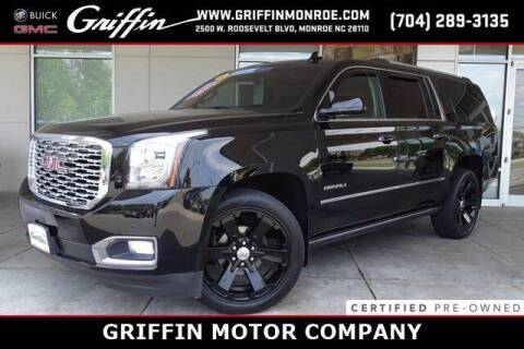 2018 GMC Yukon XL for sale at Griffin Buick GMC in Monroe NC
