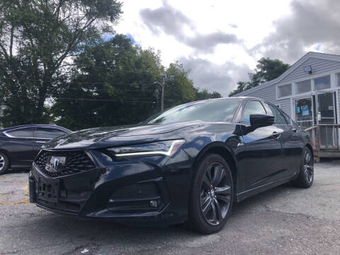 2021 Acura TLX for sale at Top Line Import of Methuen in Methuen MA