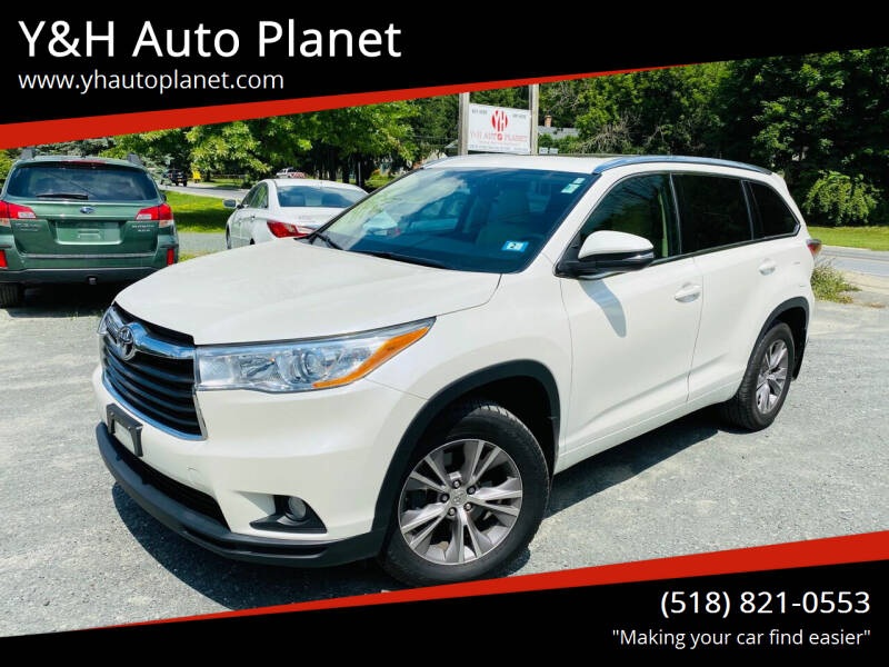 2014 Toyota Highlander for sale at Y&H Auto Planet in West Sand Lake NY