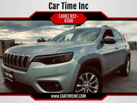 2019 Jeep Cherokee for sale at Car Time Inc in San Jose CA