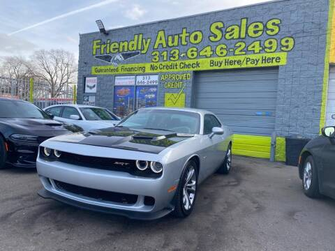 2020 Dodge Challenger for sale at Friendly Auto Sales in Detroit MI