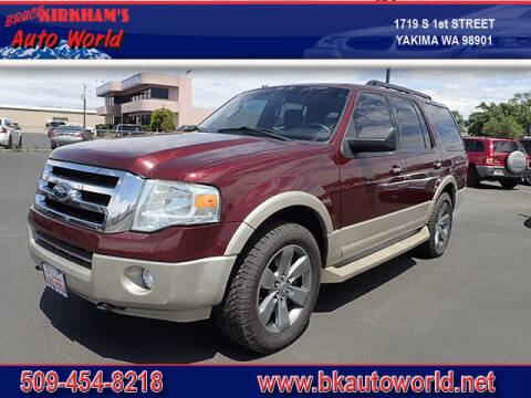 2009 Ford Expedition for sale at Bruce Kirkham Auto World in Yakima WA