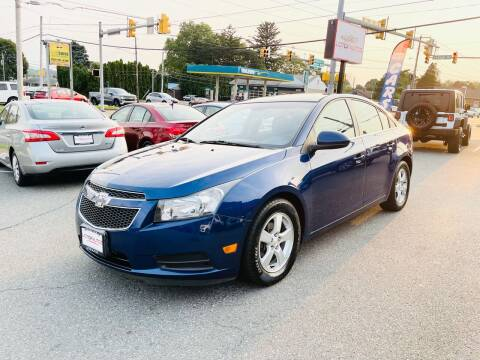 2013 Chevrolet Cruze for sale at LotOfAutos in Allentown PA