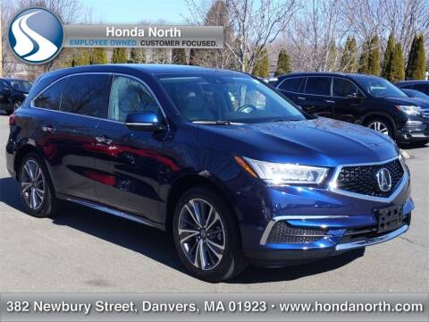2019 Acura MDX for sale at 1 North Preowned in Danvers MA