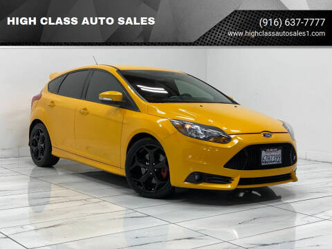 2013 Ford Focus for sale at HIGH CLASS AUTO SALES in Rancho Cordova CA