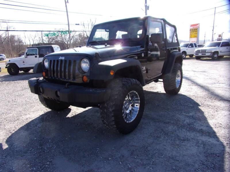 2007 Jeep Wrangler for sale at RAY'S AUTO SALES INC in Jacksboro TN