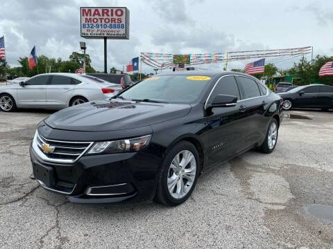 2014 Chevrolet Impala for sale at Mario Motors in South Houston TX