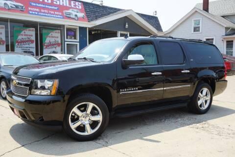 2013 Chevrolet Suburban for sale at Cass Auto Sales Inc in Joliet IL