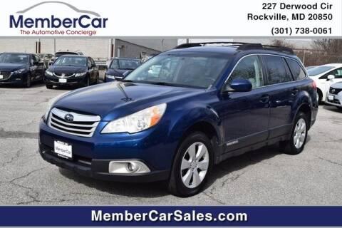 2010 Subaru Outback for sale at MemberCar in Rockville MD