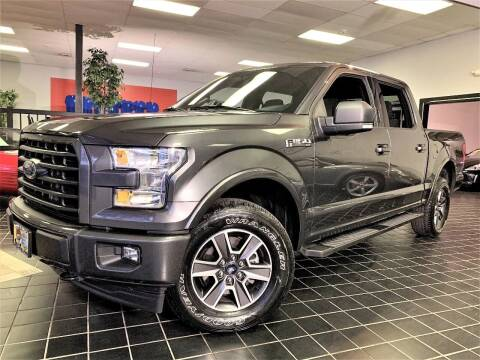 2017 Ford F-150 for sale at SAINT CHARLES MOTORCARS in Saint Charles IL