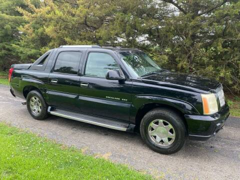 2003 Cadillac Escalade EXT for sale at Kansas Car Finder in Valley Falls KS