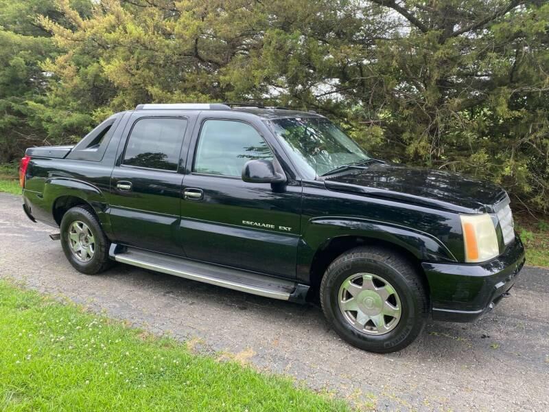 2003 Cadillac Escalade EXT for sale at Kansas Car Finder in Valley Falls KS