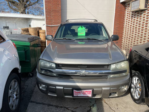2002 Chevrolet TrailBlazer for sale at Frank's Garage in Linden NJ