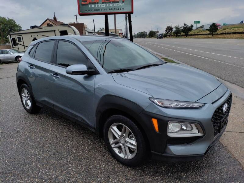 2020 Hyundai Kona for sale at Sunset Auto Body in Sunset UT