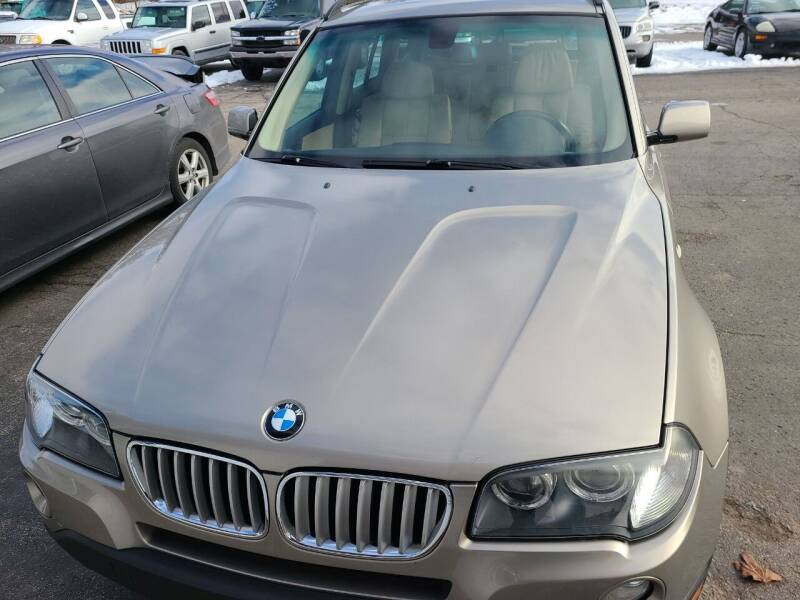 2008 BMW X3 for sale at All State Auto Sales, INC in Kentwood MI