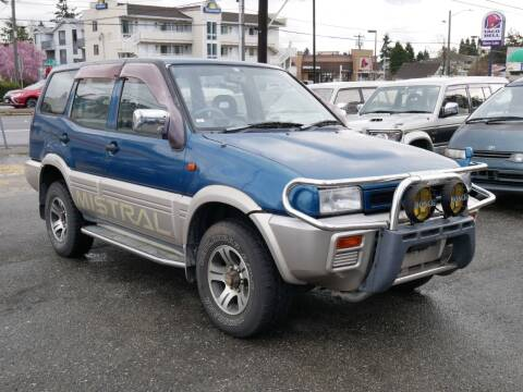 1994 Nissan Mistral 4x4 Turbo diesel for sale at JDM Car & Motorcycle LLC in Seattle WA