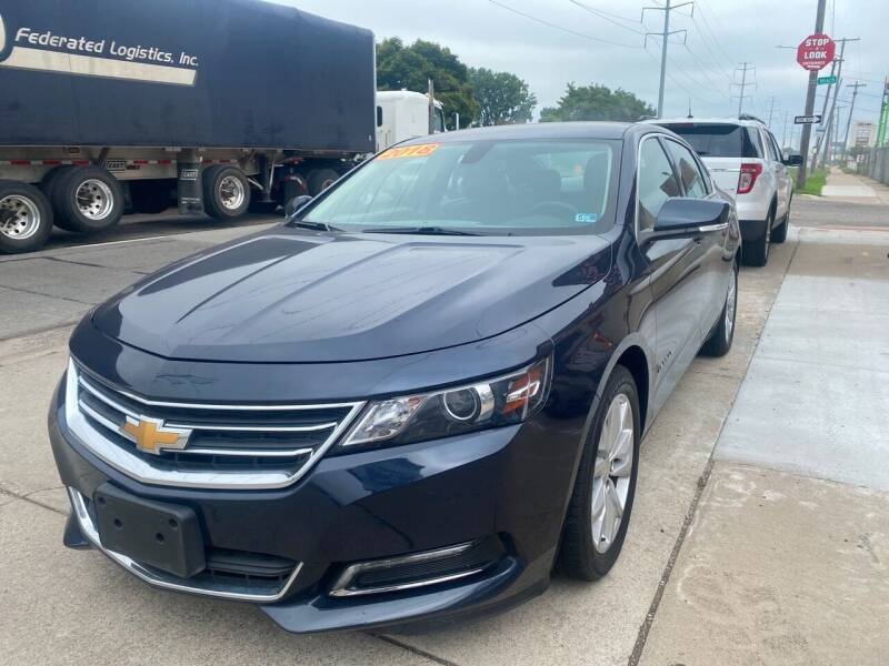 2018 Chevrolet Impala for sale at Matthew's Stop & Look Auto Sales in Detroit MI