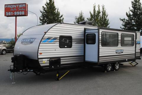2021 Forest River 282QBXL for sale at Frontier RV Sales in Anchorage AK