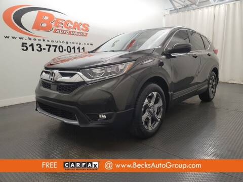 2017 Honda CR-V for sale at Becks Auto Group in Mason OH