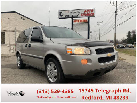 2008 Chevrolet Uplander for sale at The Family Auto Finance in Redford MI